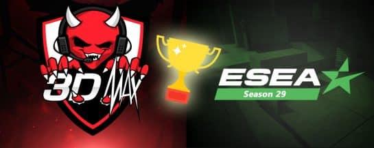 3DMAX-Won-ESEA-Season-29-Global-Challenge Esports CSGO Counter Strike