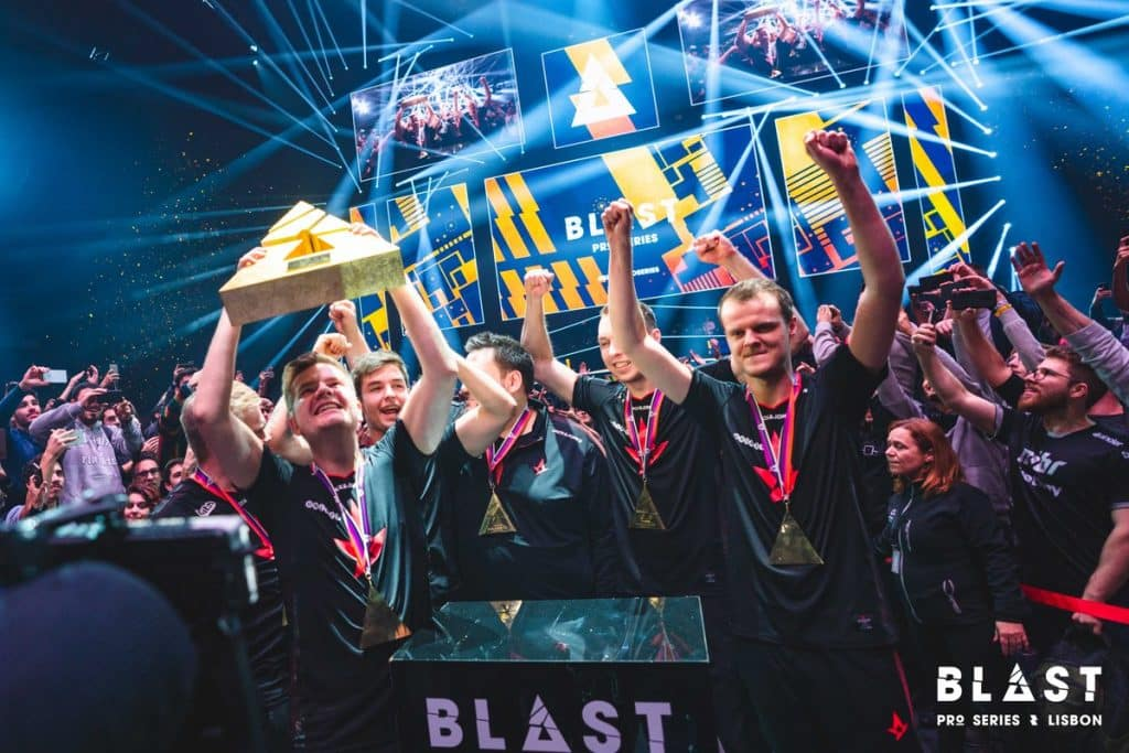 Astralis Esports Blast Pro Series Lisbon CSGO Counter Strike Grand Final Winners Champion Team