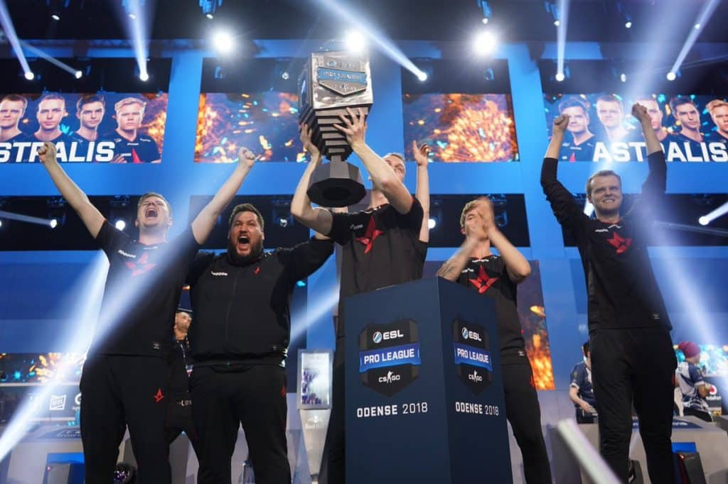 Astralis Esports CSGO Counter Strike Gaming Team ESL Pro League Best