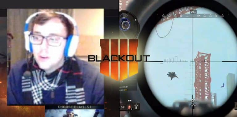 Bobbypoff Snipes Enemy's Wings Mid Air - #1 Blackout Player