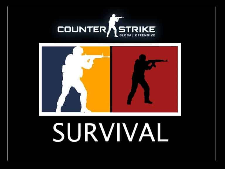 CSGO Survival Mode Battle Royale Counter Strike Global Offensive Esports