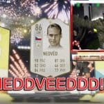 Castro1021 unpacked Pavel Nedved in FIFA 19 Ultimate Team Esports