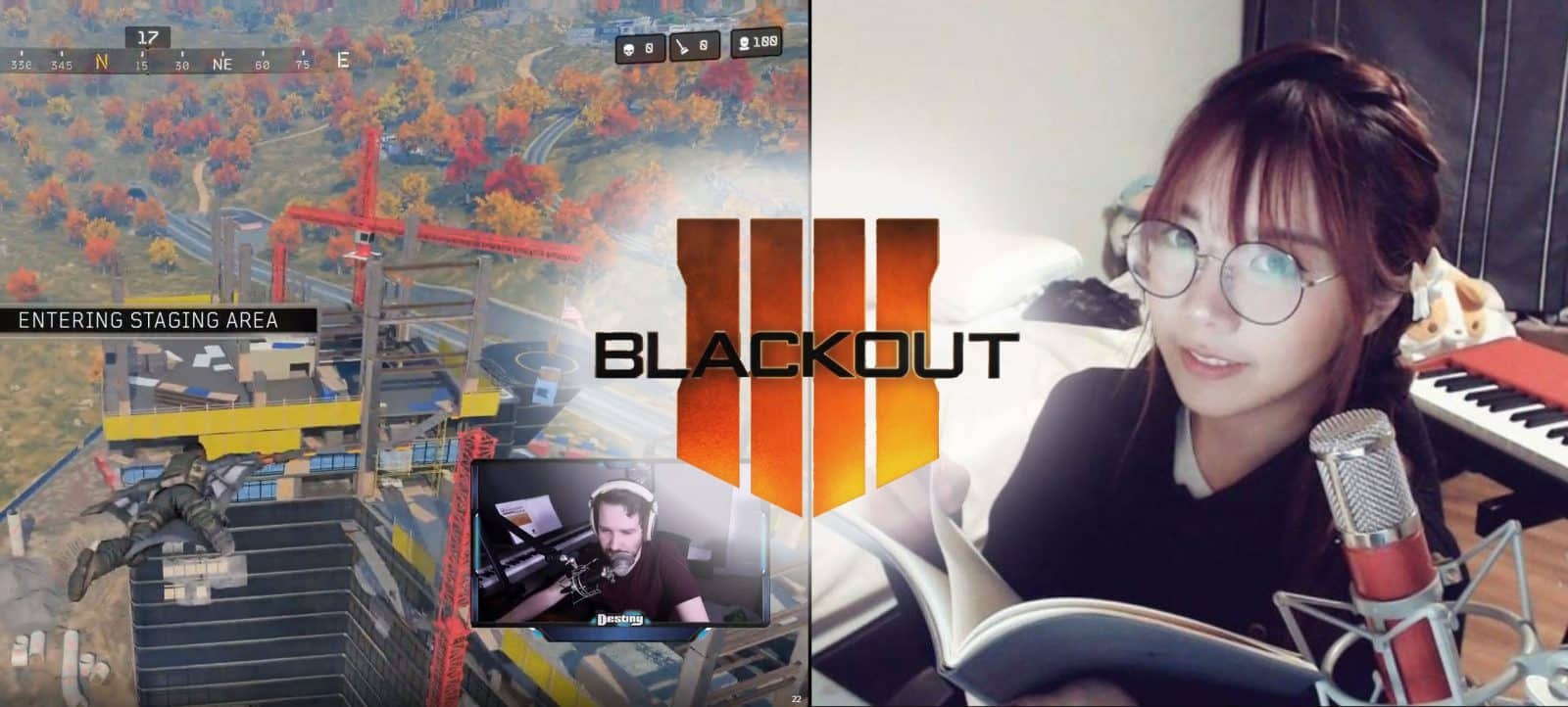 Destiny Has Awkward Encounter With LilyPichu Call of Duty Blackout Stream