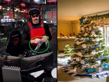 DrDisrespect Gets an Early Christmas Present. Can you Guess What it is Gift Twitch Streamer