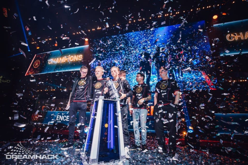 ENCE Esports Champions DreamHack Winter 2018 CSGO Counter Strike Global Offensive Tournament