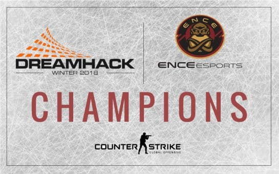 ENCE Esports Won the DreamHack Winter 2018! CSGO Counter Strike Global Offensive Tournament