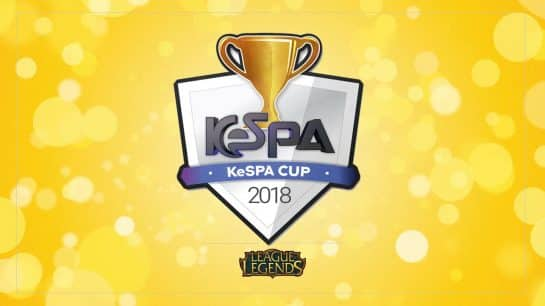 Esports KeSPA Cup Semifinals LoL League of Legends Griffin DAMWON Gaming