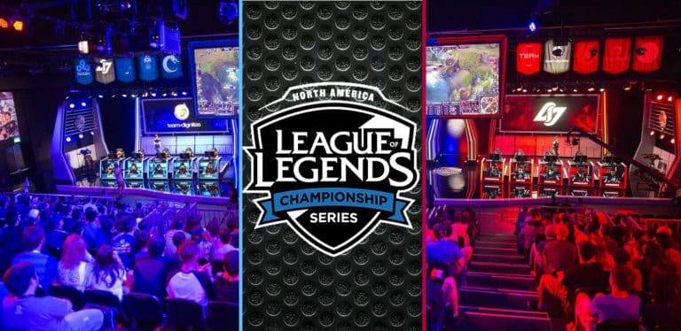 Esports League of Legends Championship Series North American Spring Split