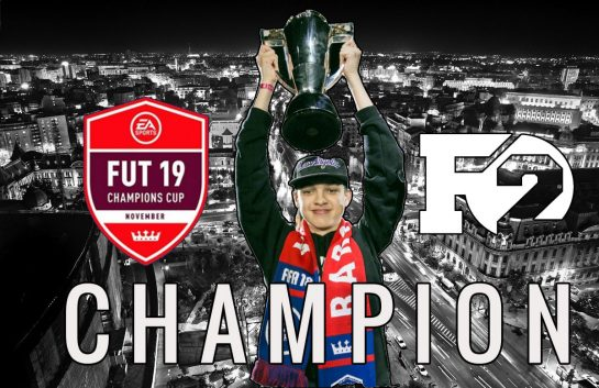 F2Tekkz is ultimate champion of the FUT Champions Cup Bucharest 2018!
