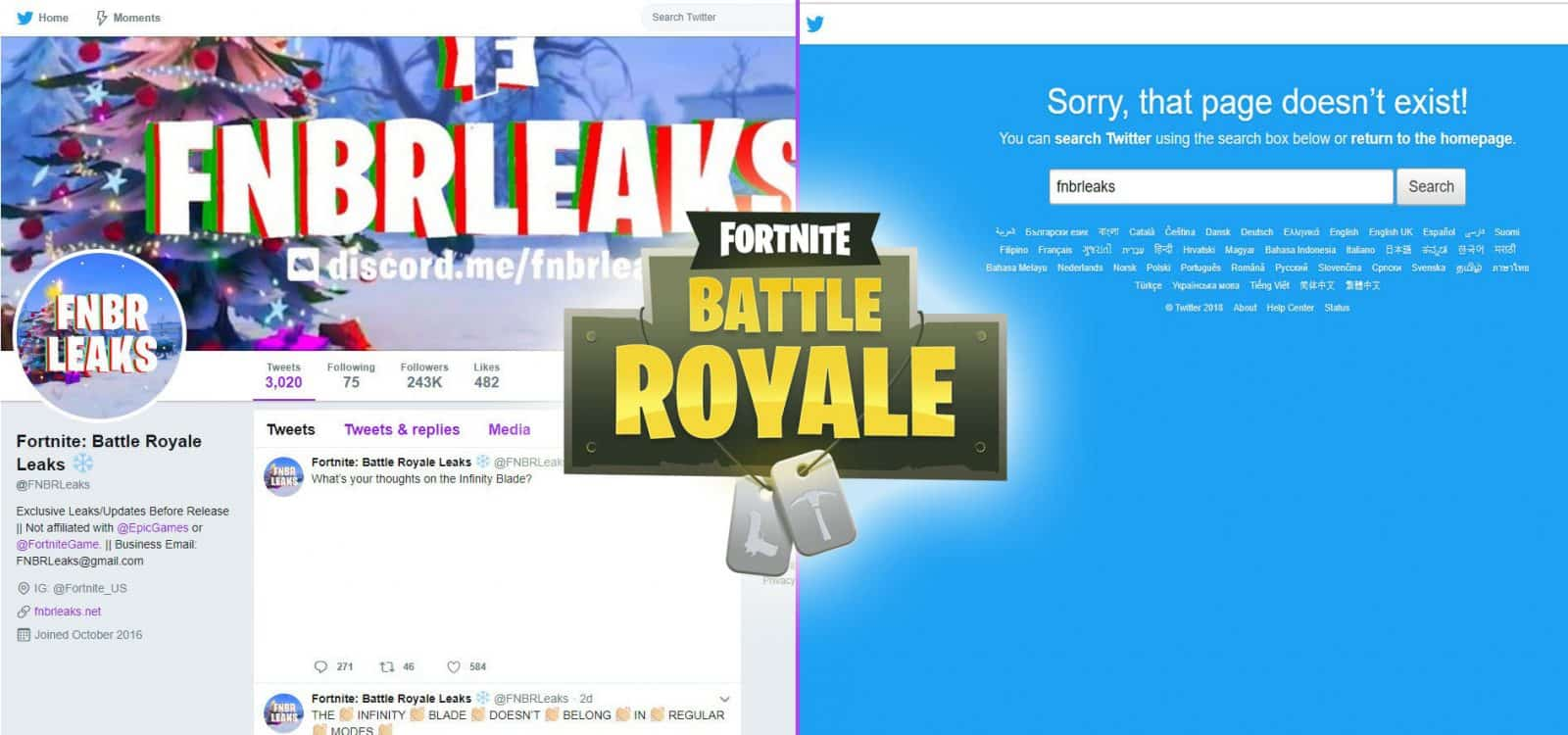 Fortnite Battle Royale Leaks Rumor Ban Close Shop Attorny Epic Games