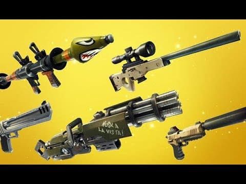 Fortnite Creative Mode Weapons New Leak