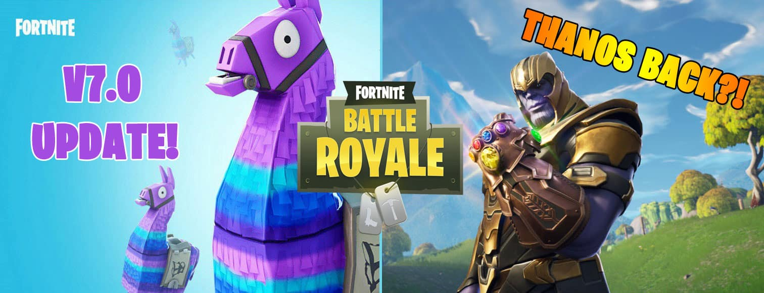 Fortnite Goodies for Galaxy Owners - Is Thanos Coming back this season
