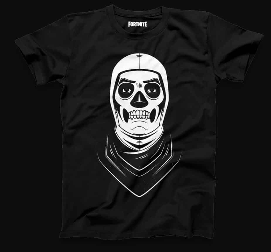 Fortnite skull trooper tshirt retail row shop