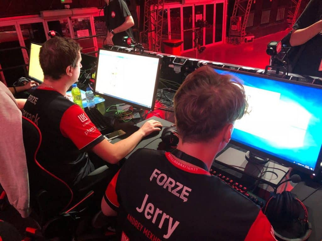 Forzegg Forze Esports CSGO Counter Strike Team Playing Game