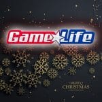 Game Life Esports Wishing Merry Christmas Dec 25 golden snowflakes