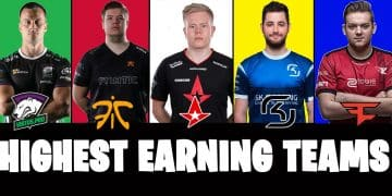 Highest Earning CSGO Team Counter Strike Esports ESL Pro League Paid