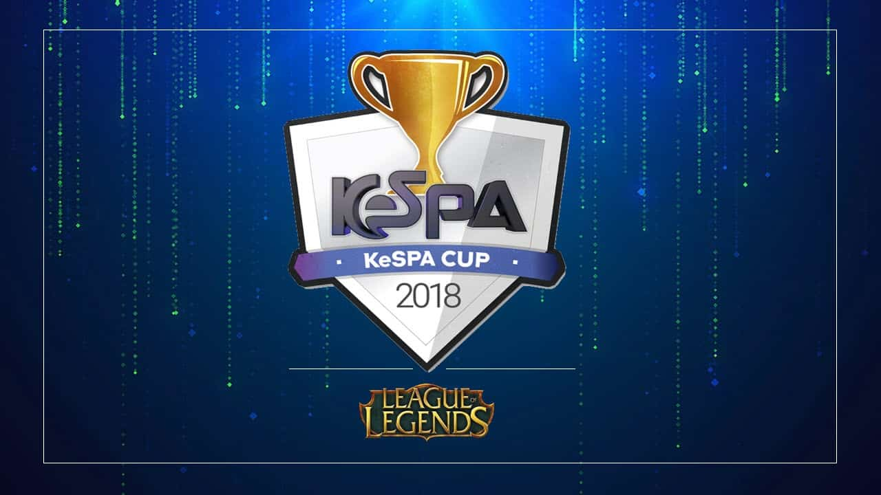KeSPA Cup quarterfinals Day 1 Esports League of Legends LoL Champion