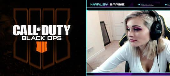 Marley Barbie Makes Sexual Reference During Blackout Stream