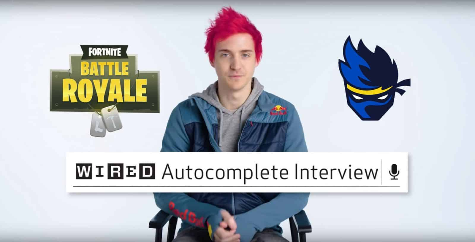 Ninja Answers his FAQs in this New Video by WIRED Fortnite Battle Royale