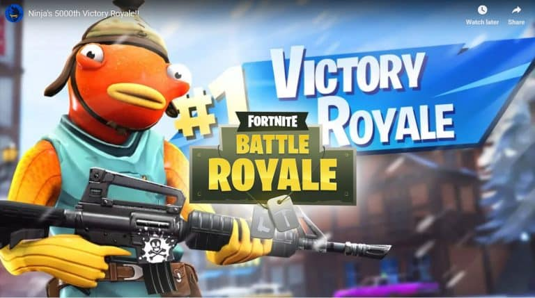 Ninja becomes the first Fortnite PC player to reach 5000 wins