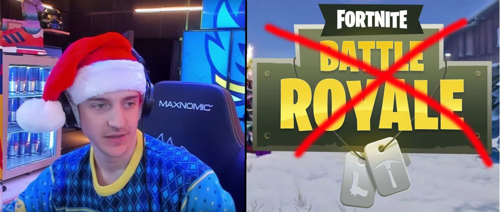 Ninja to Stop Playing Fortnite Esports Soon Epic Games Fix Break