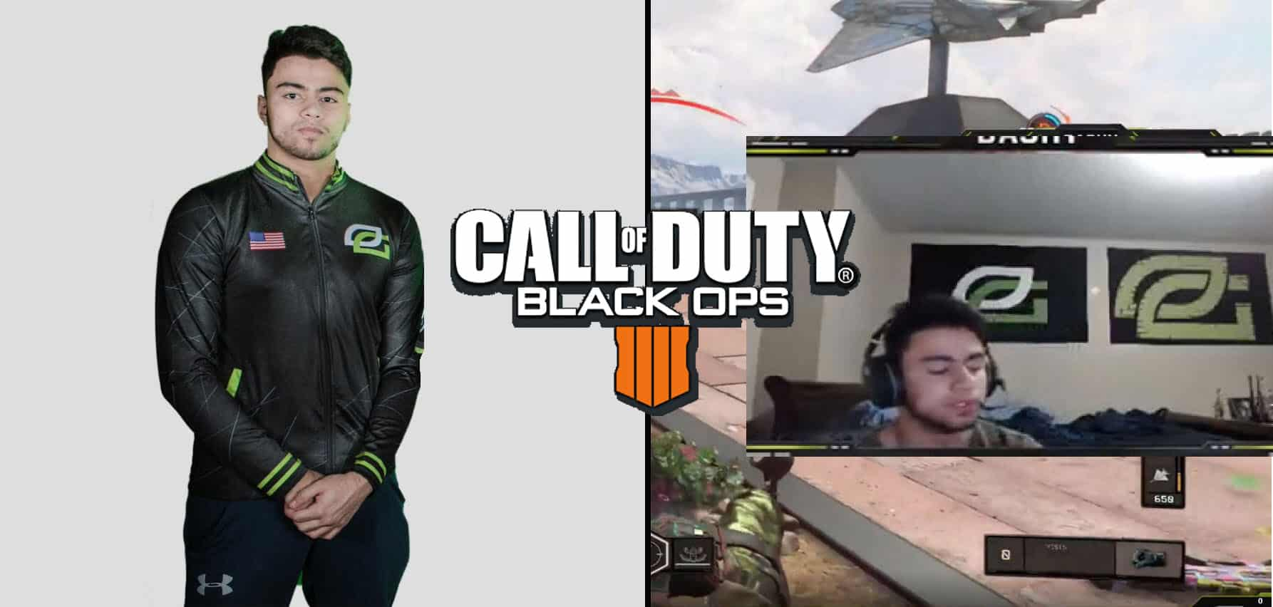 OpTic Dashy Can't Shoot With The Tempest Misses CWL Esports Call of duty