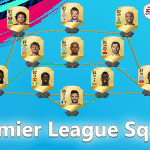 Premier League Squad for 100,000 Coins FIFA 19