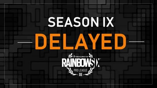Rainbow Six Siege Pro League Delayed Esports R6