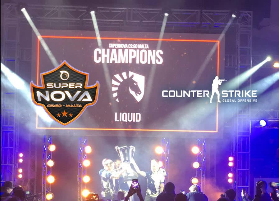 TeamLiquid SuperNova Malta 2018 CSGO Champions Winners Counter Strike