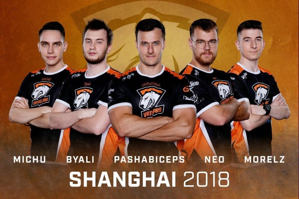 Virtus.pro Shanghai 2018 Esports CSGO Counter Strike by Turtle Entertainment