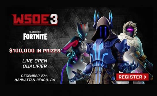 WSOE 3 Fortnite Tournament