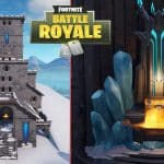 fortnite Castle polar peak with ice king throne