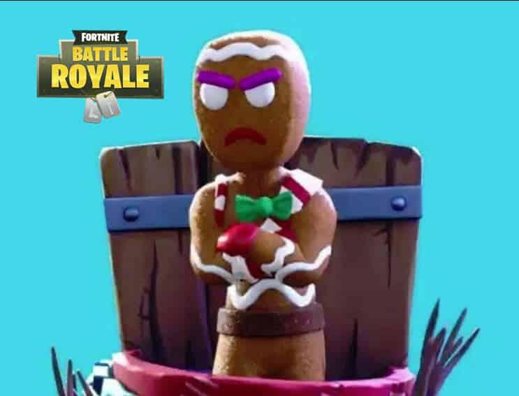fortnite gingerbread man