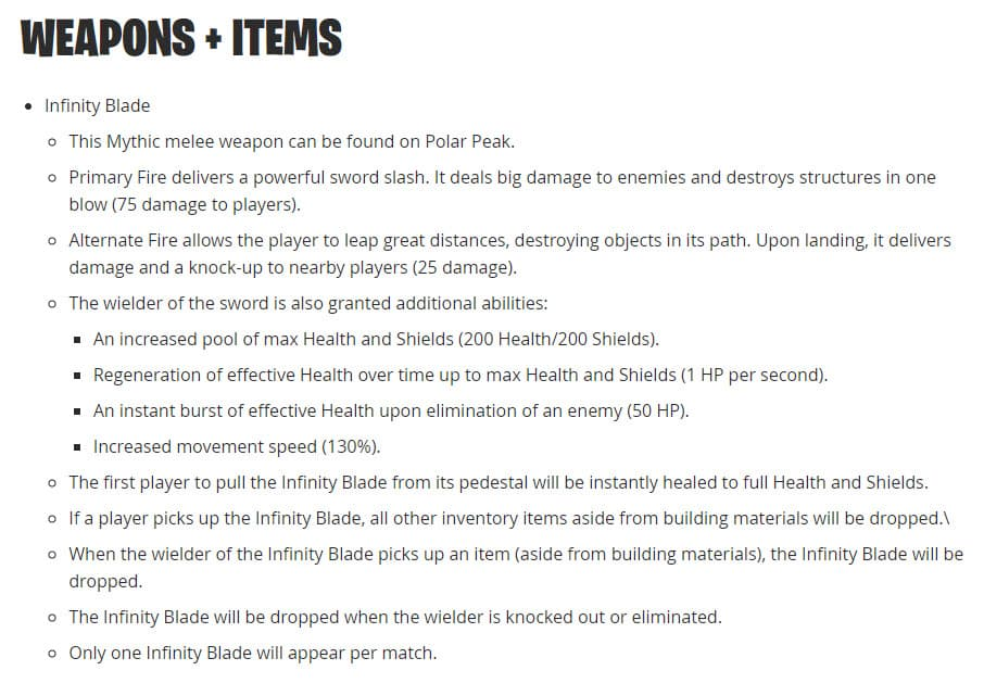 fortnite patch notes 7.01