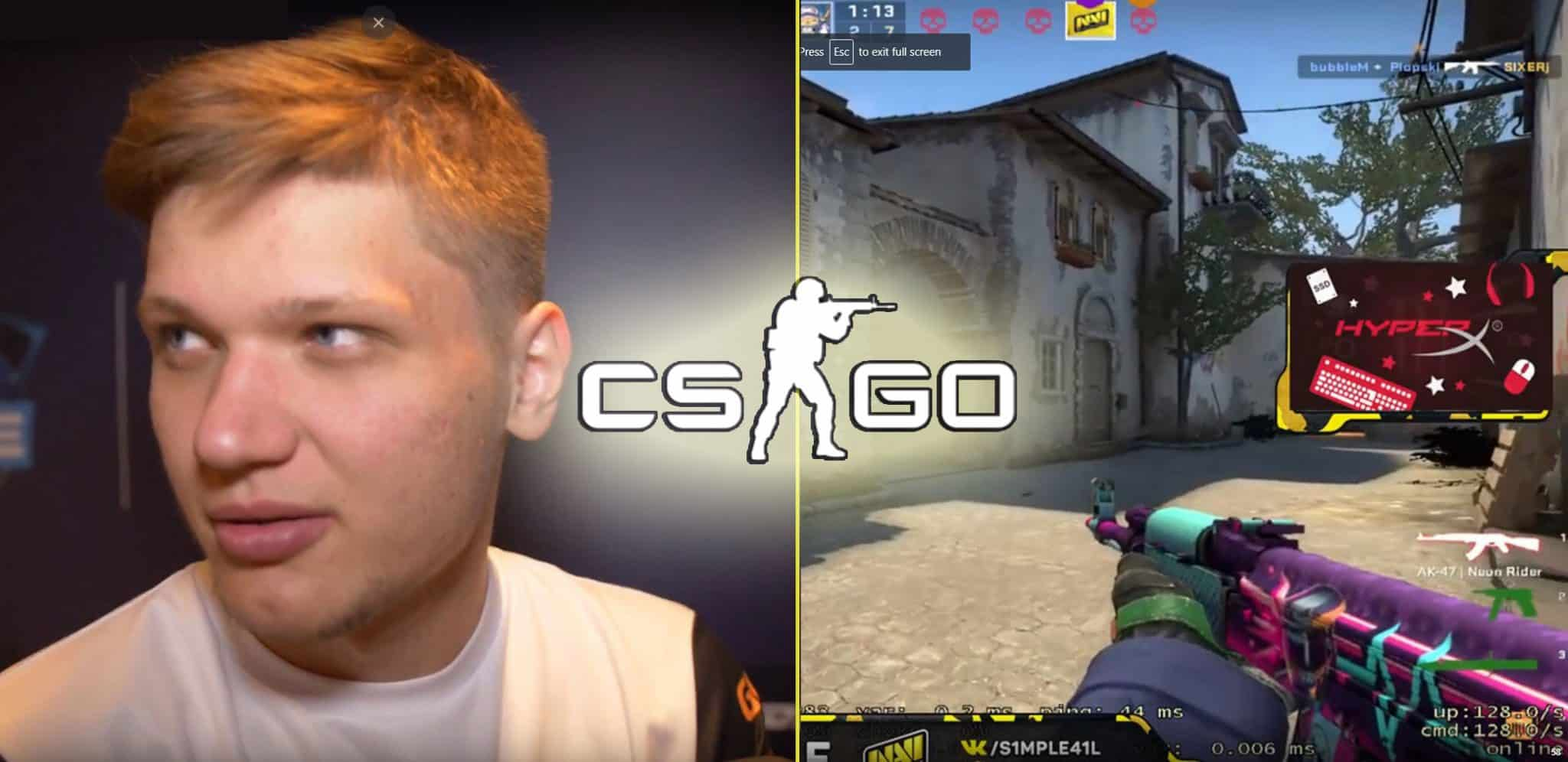 s1mple Join FaZe esports counter strike CSGO Pro league