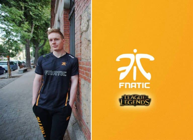 Broxah Opens Up About FNATIC LOL LEC Esports League of Legends