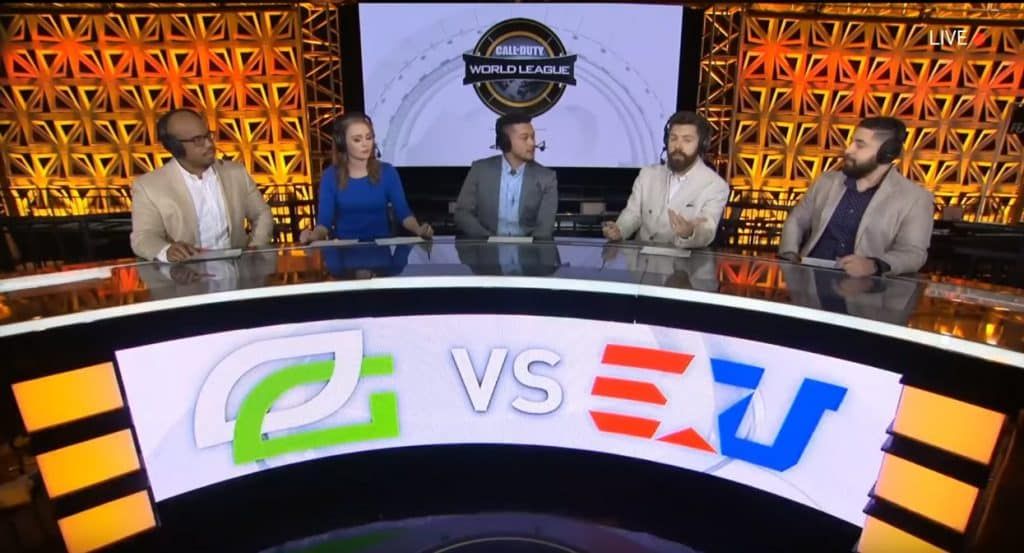 CWL Pro League 2019 Broadcast Talent Caster Commentators Esports