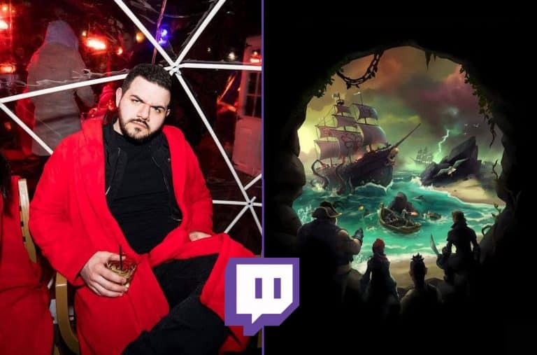 Courage JD Shows off his Dance Moves Playing Sea of Thieves Twitch Esports
