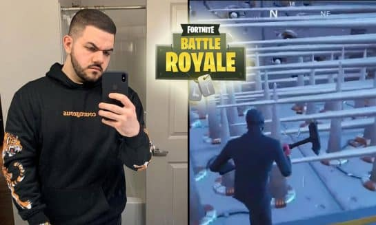 CourageJD tries Cizzorz New Death Maze Map 1 Fortnite Battle Roayle