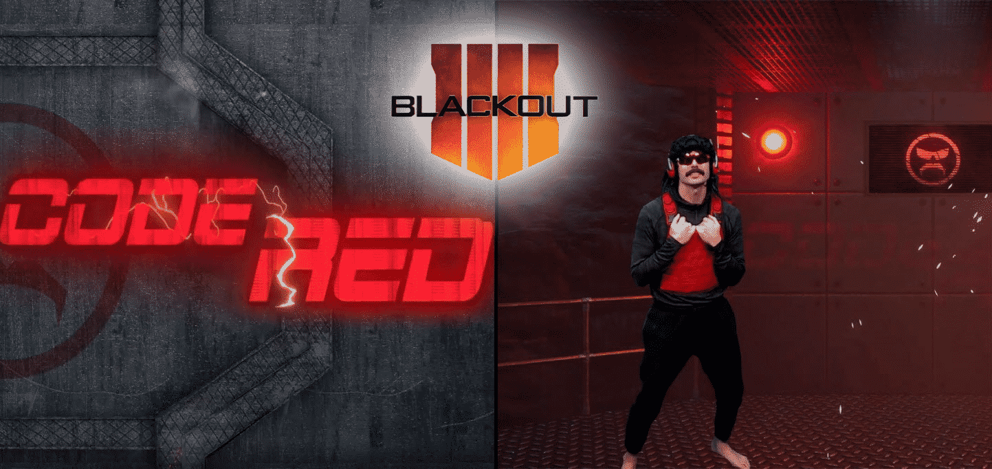 Dr Disrespect #CodeRedLive Finals Reaction Priceless Esports Blackout