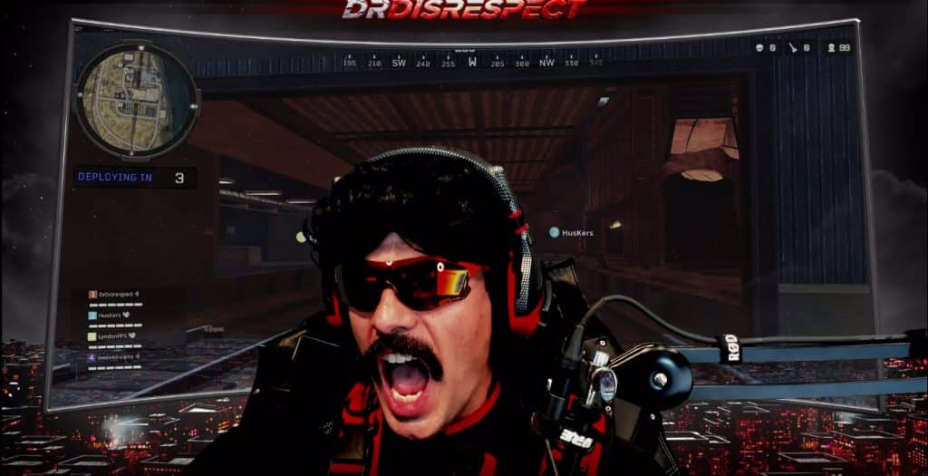 Dr Disrespect DOC Speaks Dolphin on Twitch TV Livestream to Viewers Fans Blackout