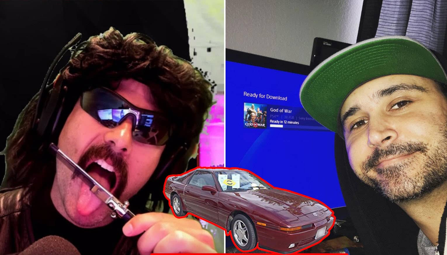 Dr Disrespect Throws Shade at Summit1g. Says he Drives a Toyota Blackout