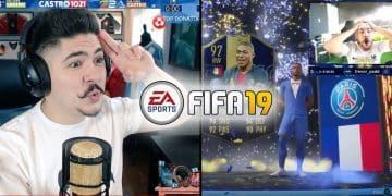 Esports FIFA 19 TOTY Mbappe unpacked Castro1021 Twitch Gaming
