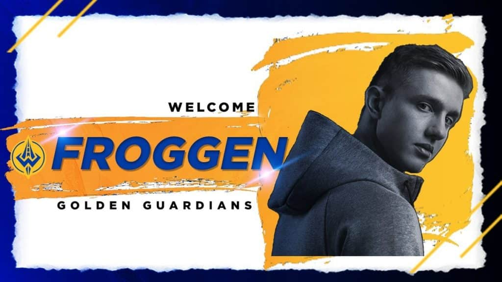 Esports Golden Guardians Froggen League of Legends Team LoL