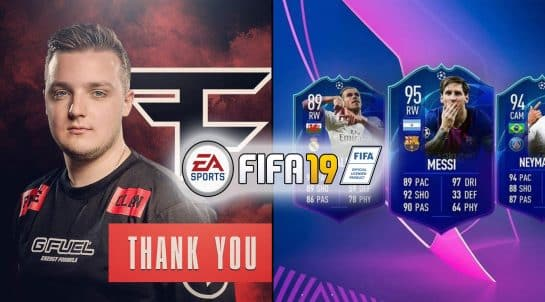 Esports Huge Gorilla Reveals FIFA 19 Custom Settings Controller Pro Gaming FaZe