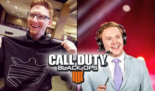 Esports OpTic Scump Ben Benson Bowie Broadcaster Impersonate CWL Call of Duty World Leage Event