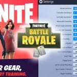 Fortnite Esports Players Settings Control Setup Tournament Pro