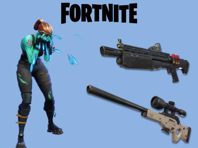 Fortnite v7.30 Update Vaulted weapons