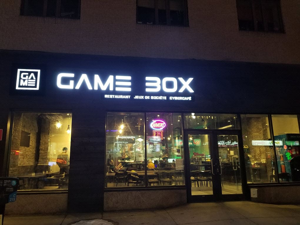 Gamebox PC Bang Montreal Gaming Cafe Arcade Esports