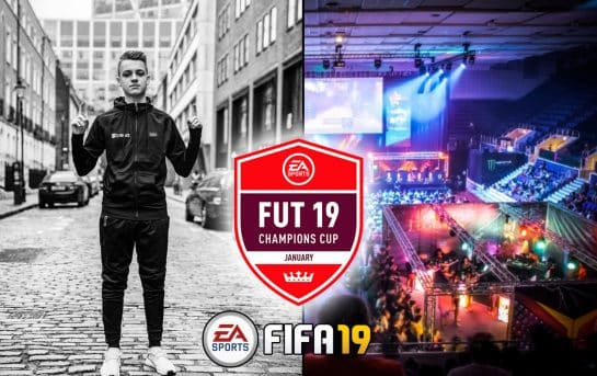 January FUT Champions Cup Esports FIFA 19 Tournament Event Gaming